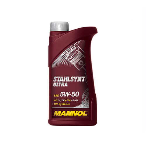 Моторное масло Mannol STAHLSYNT ULTRA 5W50 1L