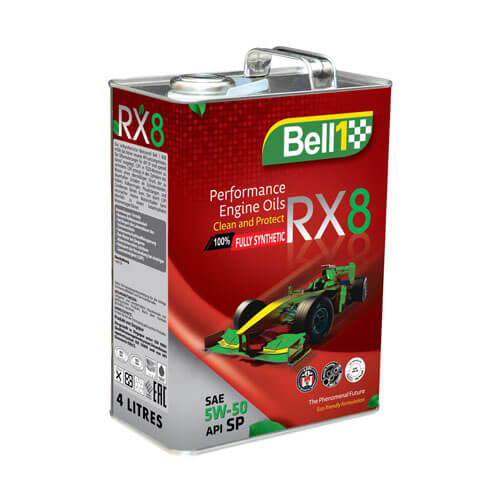 Моторное масло Bell1 RX-8 5W50 4L
