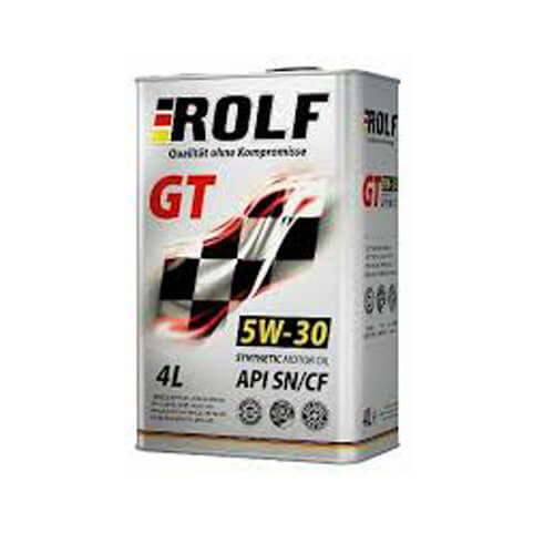 Моторное масло Rolf GT 5W30 4L