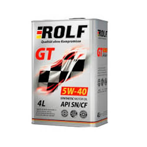 Моторное масло Rolf GT 5W40 4L